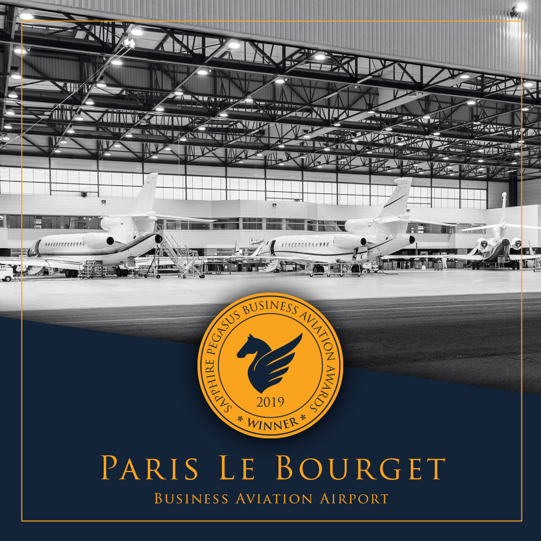 SPBAA 2019 Winner - Business Aviation Airport - Paris Le Bourget