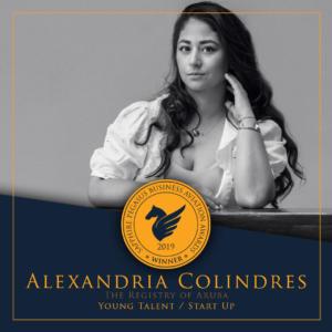 SPBAA 2019 Winner - Young Talent/Start Up - Alexandria Colindres