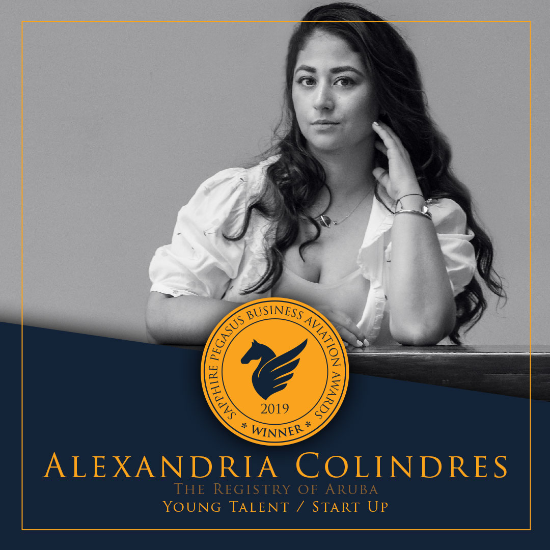SPBAA 2019 Winner - Young Talent/Start Up - Alexandria Colindres