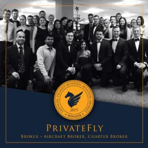 SPBAA 2019 Winner - Broker - PrivateFly