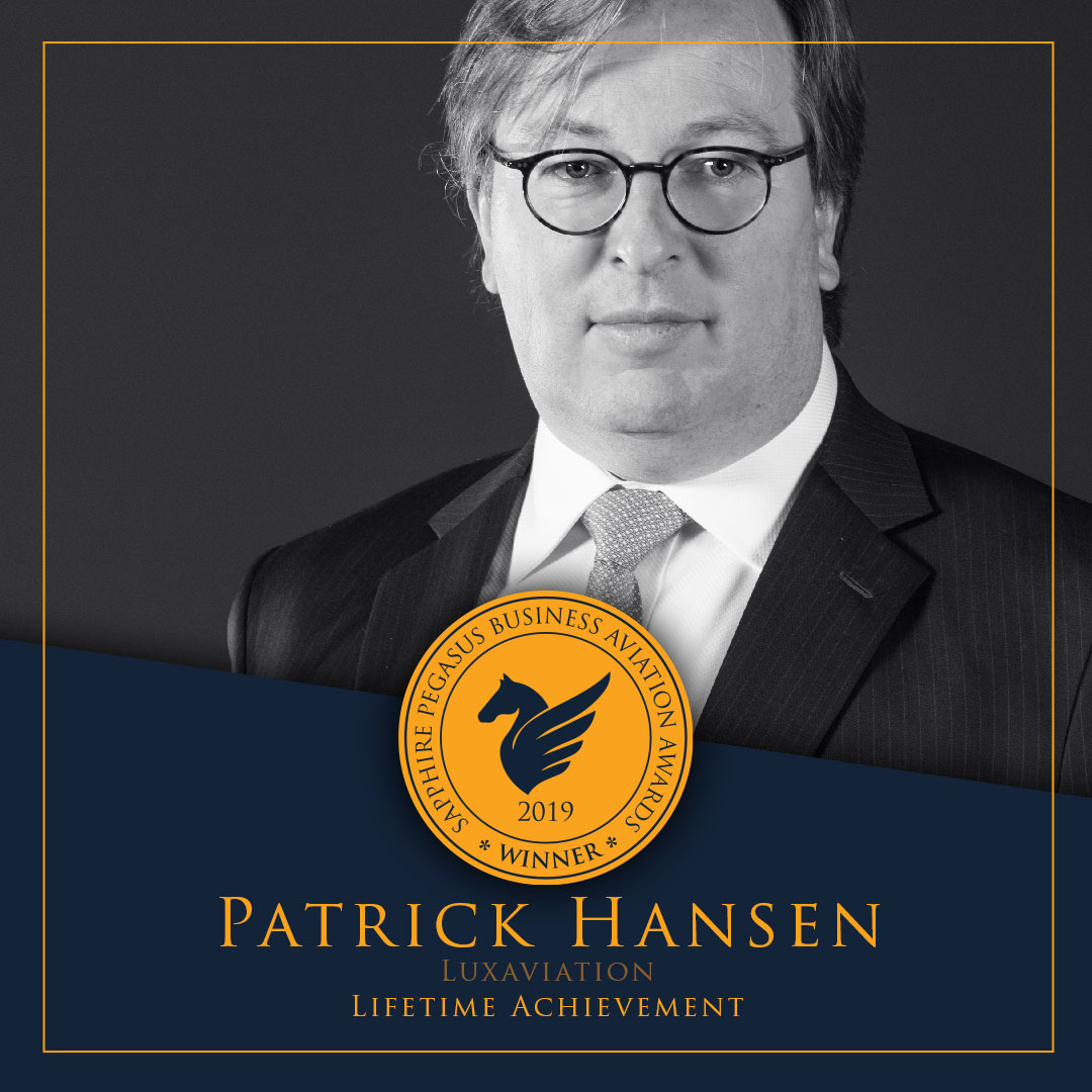 SPBAA 2019 Winner - Lifetime Achievement - Patrick Hansen
