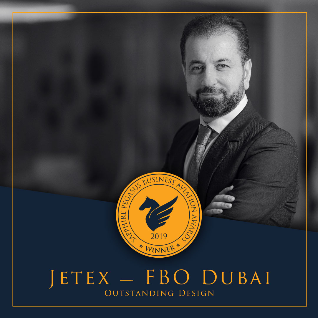 SPBAA 2019 Winner - Outstanding Design - Jetex FBO Dubai