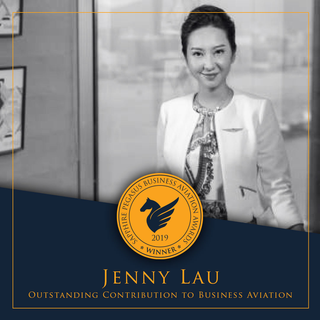 SPBAA 2019 Winner - Outstanding Contribution to Business Aviation Winner - Jenny Lau