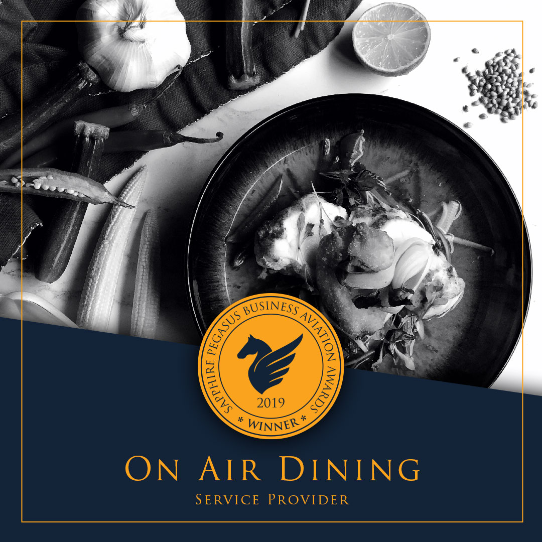 SPBAA 2019 Winner - Service Provider - On Air Dining