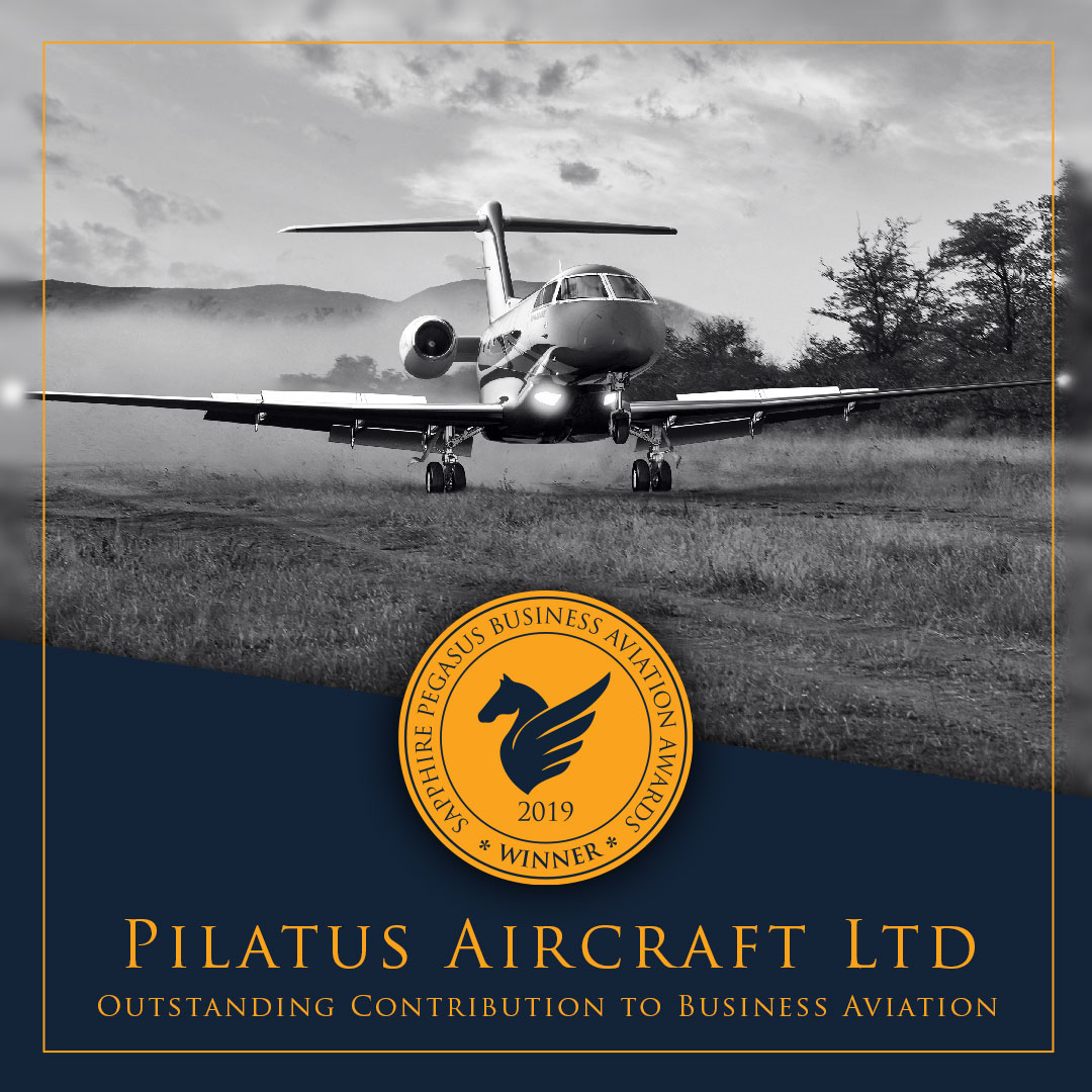 SPBAA 2019 Winner - Outstanding Contribution to Business Aviation Winner - Pilatus
