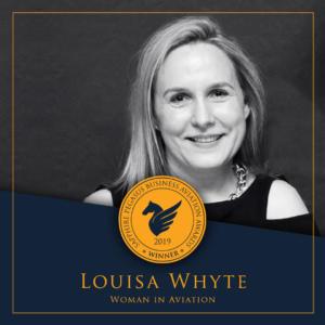 SPBAA 2019 Winner - Woman in Aviation - Louisa Whyte