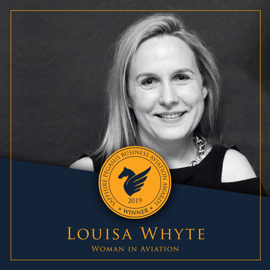 SPBAA 2019 Winner - Woman in Aviation - Louisa Whyte