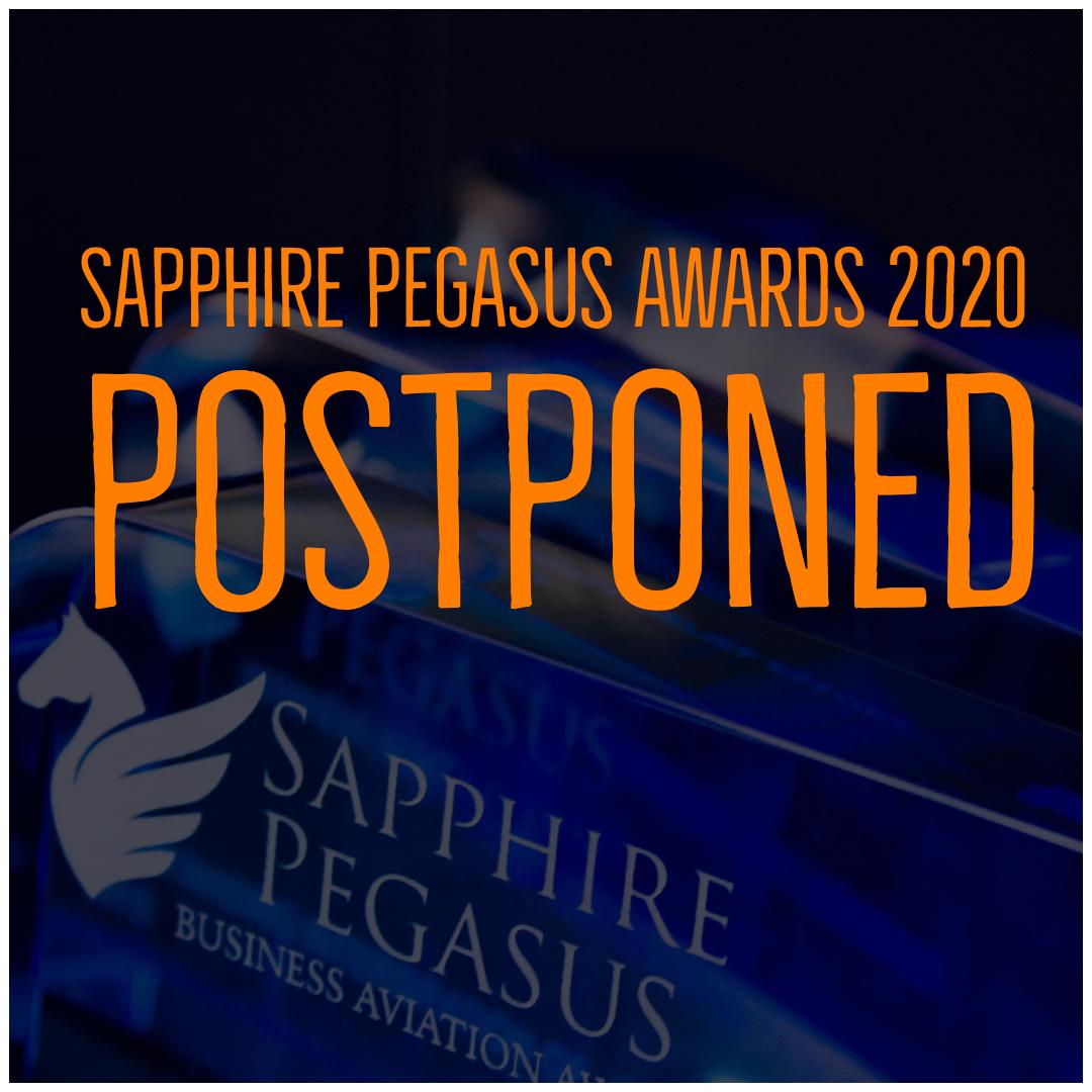 Sapphire Pegasus Award Postponed